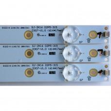 GJ-2K16 D2P5-315, D307-V2.2, EBHABTX2F600, TPV TPT315B5-FHBN0.K, TPV TPT315B5-WHBN0.K, LED BAR ,(9293)