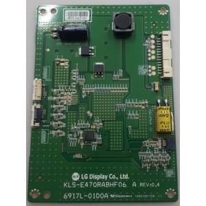 6917L-0100A , KLS-E470RABHF06 A , LED DRIVER BOARD , VESTEL , LC470EUN (FE) (F1)  (4288)
