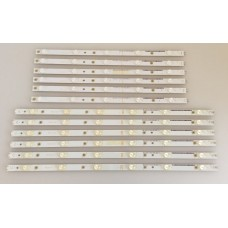 500TT41 V4 500TT42 V4, PHILIPS -50PFK6510-10, 50PFK5300 LED BAR ,LED BACKLİGTH, PANEL ARKA AYDINLATMA ,(9202)