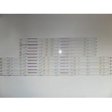 500TT67 V2 SX-11800729AO 500TT67 V2 SX-11700730AO TPT500DK-QS1 50PUK6400 , LED BAR ,SET (ORJİNAL SIFIR) ,(9214)