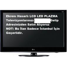 EKRANI KIRIK TVLERİNİZ ALINIR. Hasarlı Kırık Arızalı, Hurda, Bozuk LCD, LED, PLAZMA Televizyonlarınız değerinde nakit Alınır
